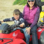 Quad biking and picnic in flowers  (24)