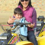 Quad biking and picnic in flowers  (26)