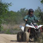Quad biking and picnic in flowers  (3)
