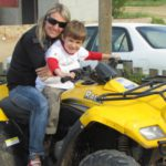 Quad biking and picnic in flowers  (32)