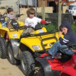 Quad biking and picnic in flowers  (35)