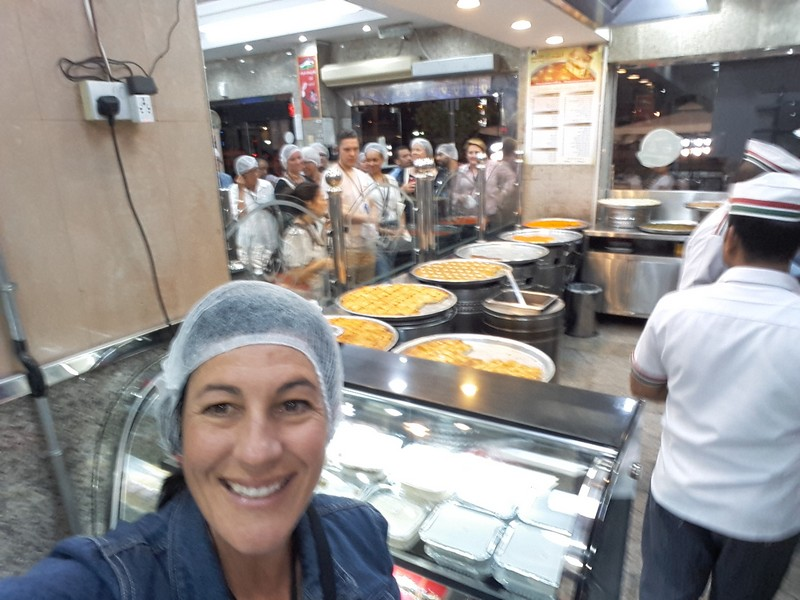 The Bucket List Genie enjoys a culinary walking tour, in and around old Dubai.